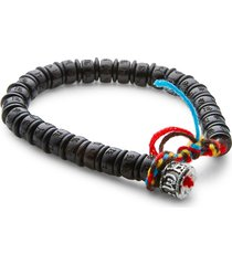 jean claude men's healing power & protection wood bracelet