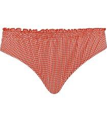 côte d'azur 5 cm bikini slip | red and white - xxl