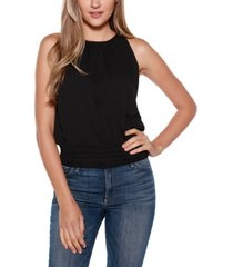belldini black label ruched halter top