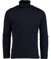 commander rollkragen-shirt 1/1 a 213010419/600 blauw