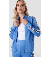 fila talli track jacket - blue