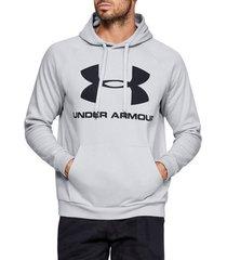 sweater under armour rival fleece sportstyle logo hoodie 1345628-014