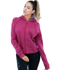 buzos rojo under armour buzo ival fleece fz