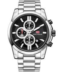 reloj análogo f0134g-3 hombre negro
