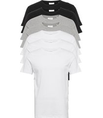 basic o-neck tee s/s 7 pack t-shirts short-sleeved lindbergh