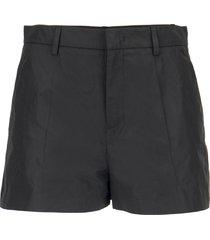 red valentino taffeta shorts