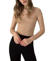 women's reformation bardot top, size x-small