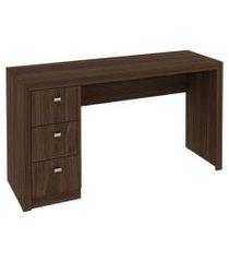 mesa para escritório me4102 carvalho tecnomobili