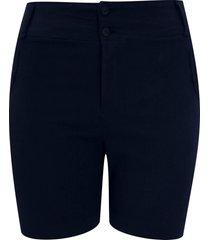 shorts pau a pique básico azul marinho