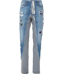 jeans with insert