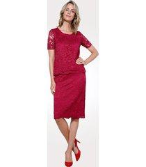 topp & kjol mona röd