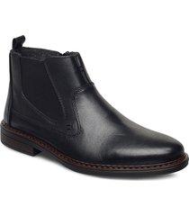 37662-00 shoes chelsea boots svart rieker