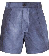 jacquemus le short tennis shorts - blue