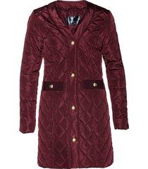 giacca trapuntata lunga (rosso) - bpc selection