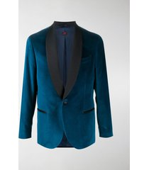 mp massimo piombo velvet suit jacket