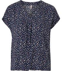 blus cusafira capsleeve blouse