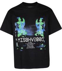 misbhv black cotton t-shirt
