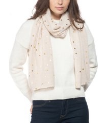 charter club cashmere foil-dot muffler scarf, created for macy's