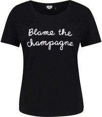 t-shirt blame champagne