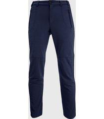 pantalon softshell termico azul andesland