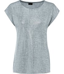 top in jersey con stampa (argento) - bpc selection