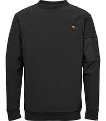 el orazio sweatshirt sweat-shirt tröja svart ellesse