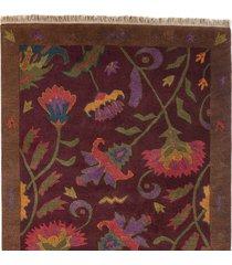 hatfield tibetan hand-knotted rug