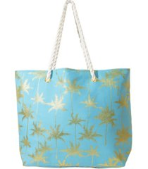 area stars women's palm tree tote bag