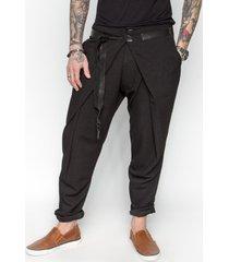 spodnie t-bety black