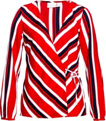 camicetta incrociata fantasia (rosso) - bpc selection