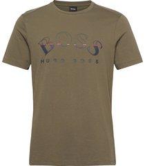 tee 1 t-shirts short-sleeved grön boss