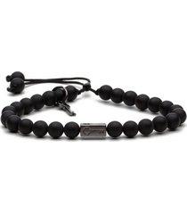 pulseira key design - lincoln - black series