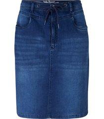 gonna di jeans in felpa comoda (blu) - john baner jeanswear