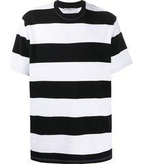 givenchy horizontal stripe t-shirt - black