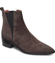 boots 3691 shoes boots ankle boots ankle boot - heel brun billi bi