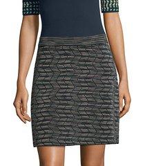 spacedye pencil skirt