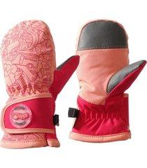 guantes mini snow day b-dry glove mitts fucsia lippi