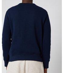 polo ralph lauren men's magic fleece polo bear sweatshirt - cruise navy - xxl