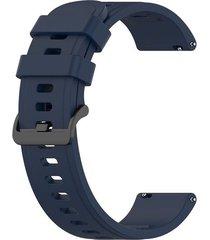 correa clásica para smartwatch reloj inteligente marca cubitt azul oscuro