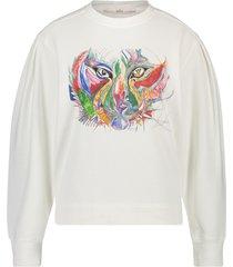 aaiko x alex sweater avalyn  wit