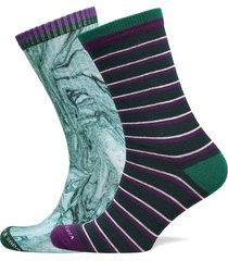 cotton-blend socks in seasonal patterns underwear socks regular socks blå scotch & soda