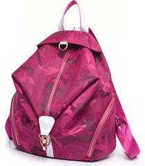 mochilas/ diseño auriculares función mochilas moda-rojo
