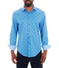 tallia men's long sleeve button up shirt