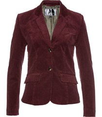 blazer in velluto (rosso) - bpc selection