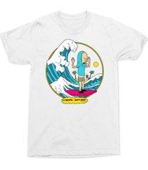 beavis and butt-head surfing men's graphic t-shirt