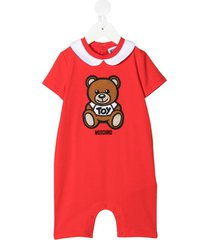 jersey onesie with teddy bear patch