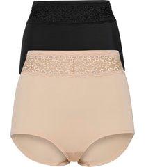 culotte modellante livello 1 (pacco da 2) (nero) - bpc bonprix collection - nice size