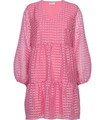 tatty dress kort klänning rosa modström