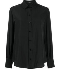 joseph klein tailored blouse - black