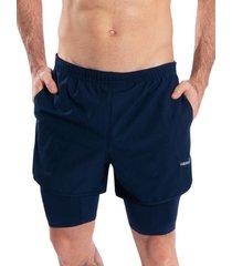 pantaloneta deportiva hawai azul oscuro